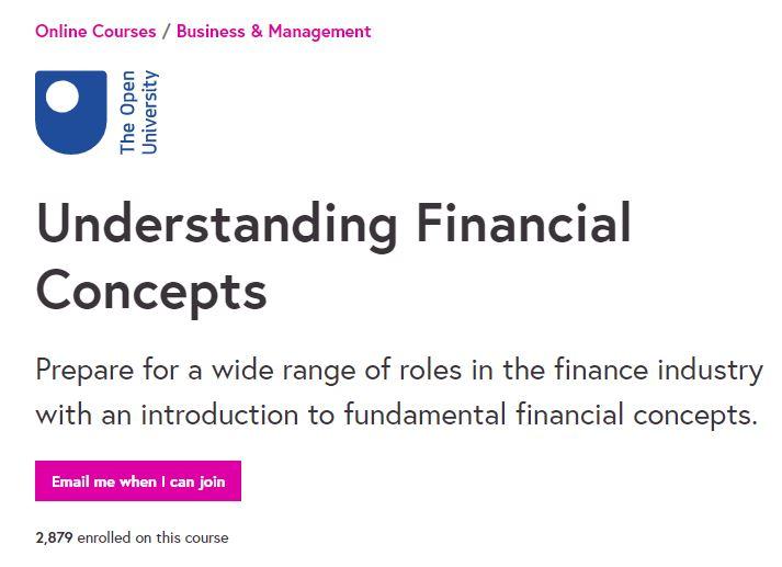 Understanding Financial Concepts
