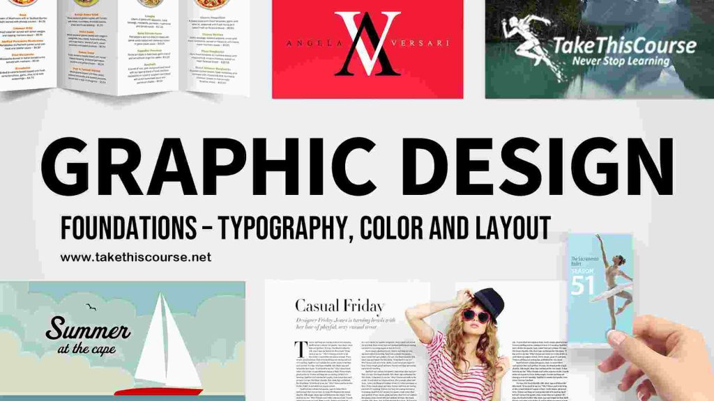 graphic designFoundations Typography, Color and layout