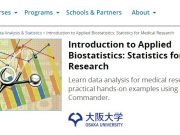 Introduction to Applied Biostatistics Statistics for Medical Research