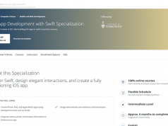 iOS App Development with Swift Specialization