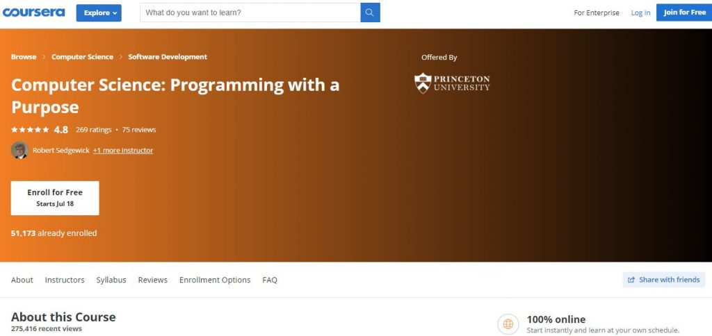 Programming with a purpose