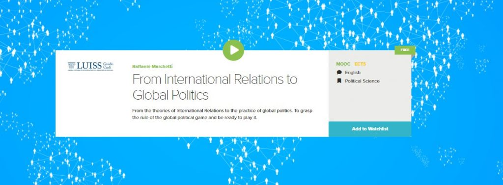 From International Relations to Global Politics