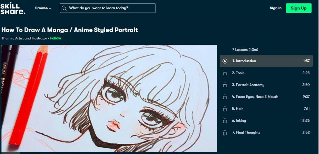 How to draw a Manga