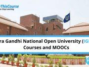 Ignou Courses and MOOCs