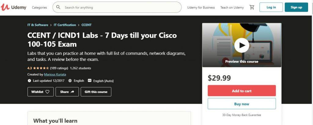 7 days till your CISCO