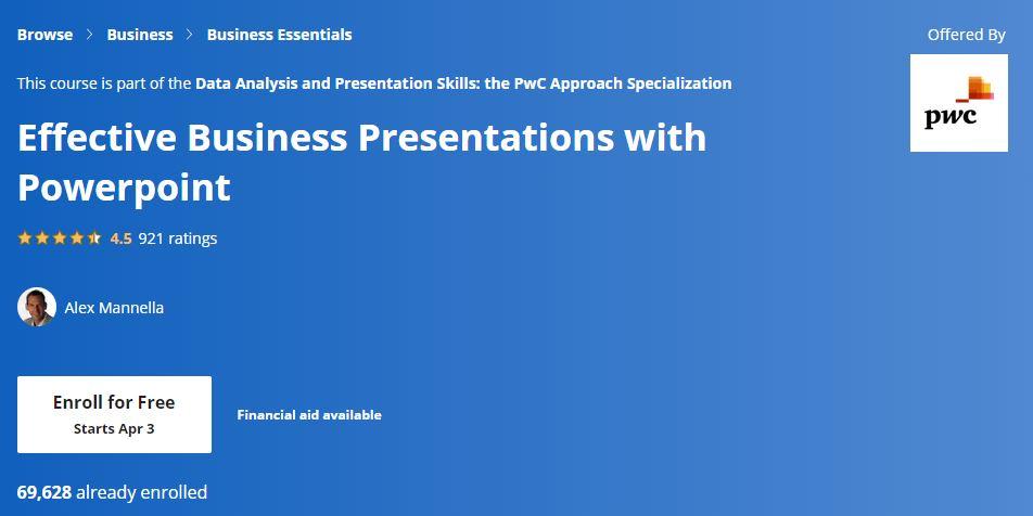Effective Business presentations