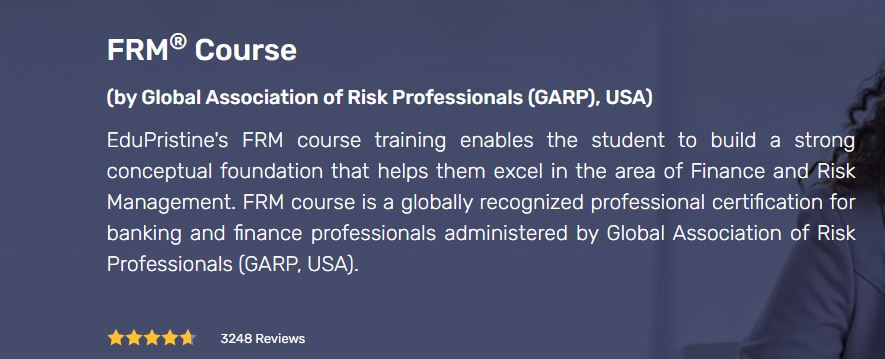 FRM Course By GARP