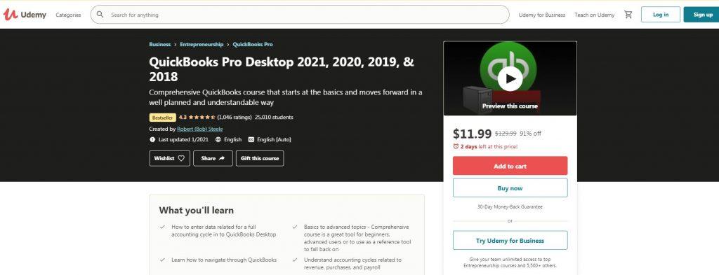 QuickBook Pro Desktop
