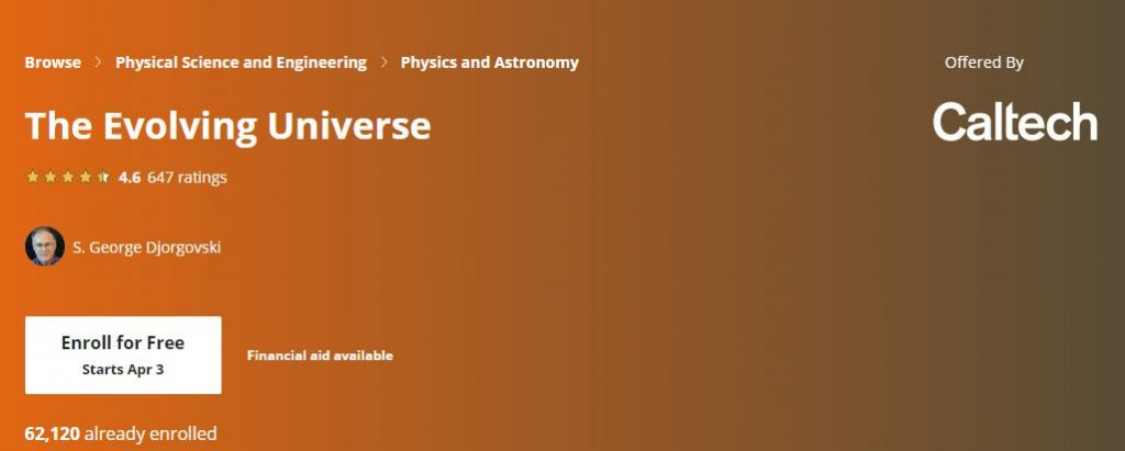 The evolving Universe