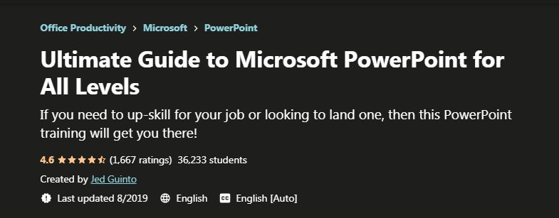 Ultimate Guide to Microsoft Powerpoint
