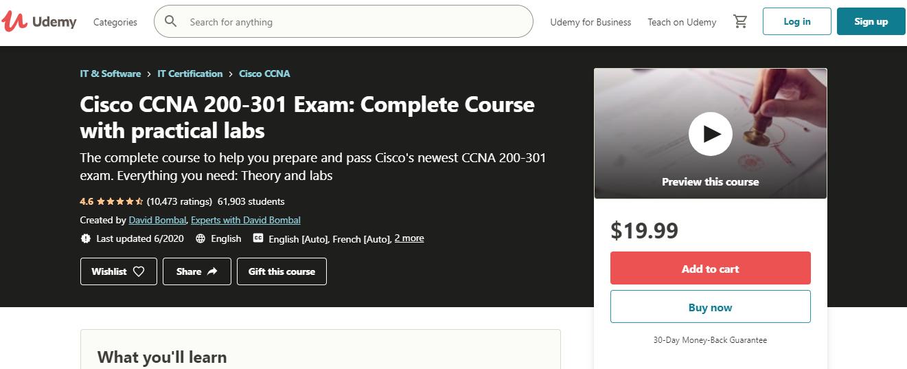 Cisco CCENT Certification Training Courses