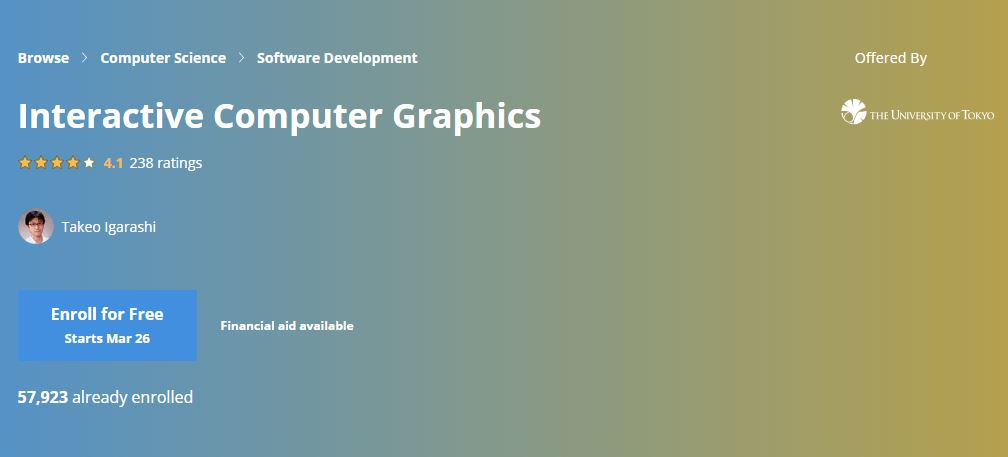 Interective Computer graphics