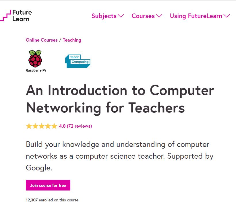 intro to computer networking for teachers