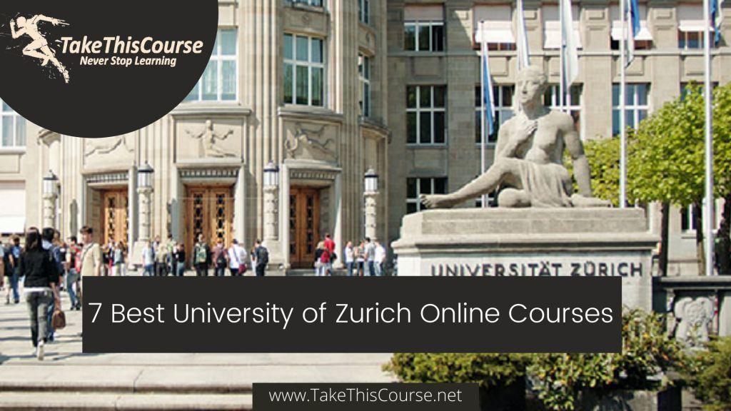 University of Zurich Online Courses