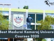 Madurai Kamaraj University Courses