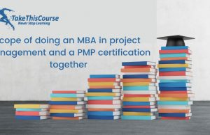Scope of Doing MBA after PMP