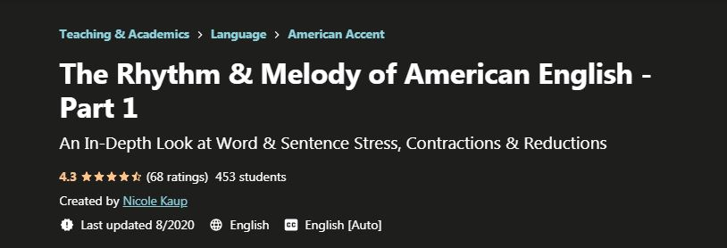 The rhythm and Melody of American English