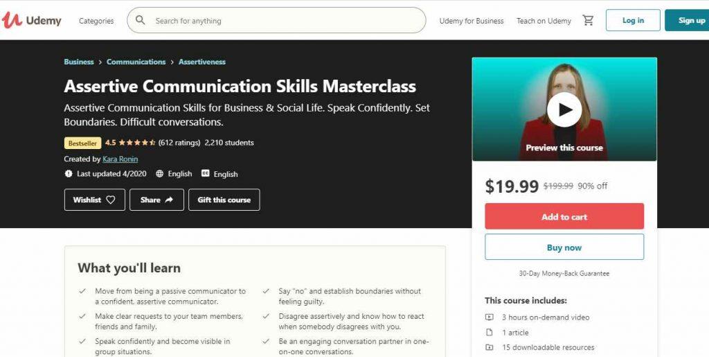 Assertive Comunication Skill