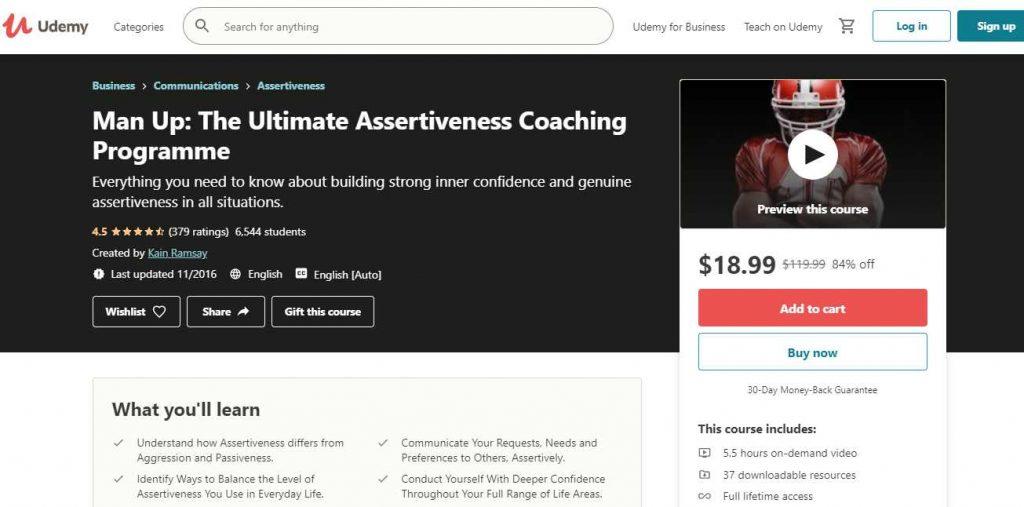 Assertiveness Coaching