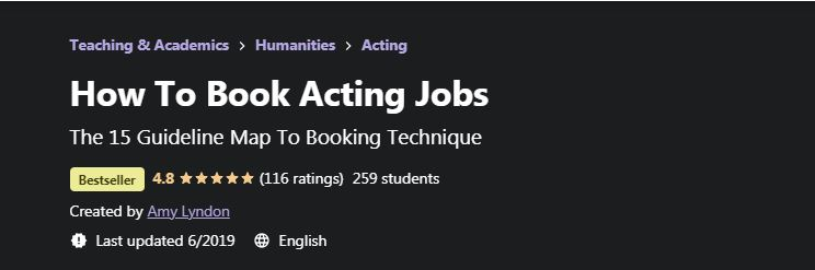 How to book acting jobs