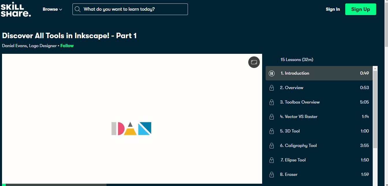 Discover All Tools in Inkscape! - Part 1