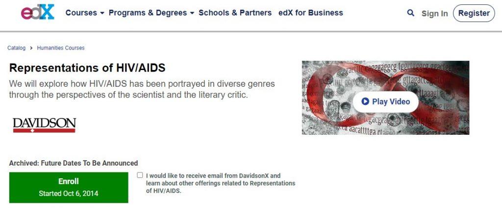 respresentations of HIV
