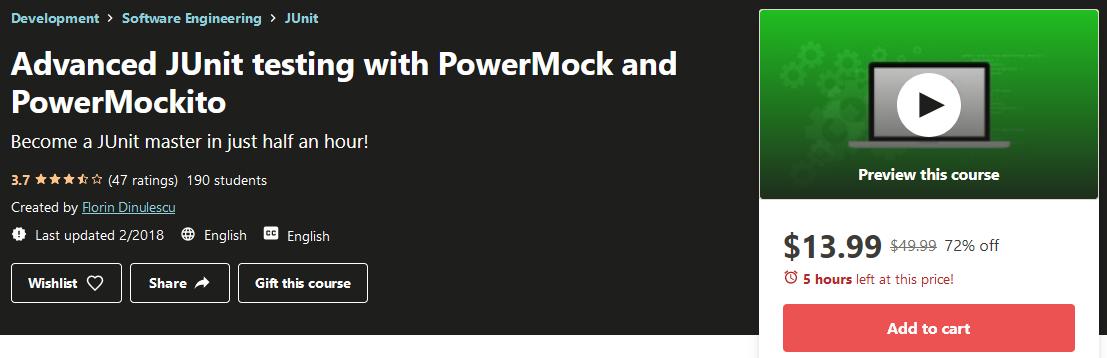 Advanced JUnit Tutorial with PowerMock and PowerMockito