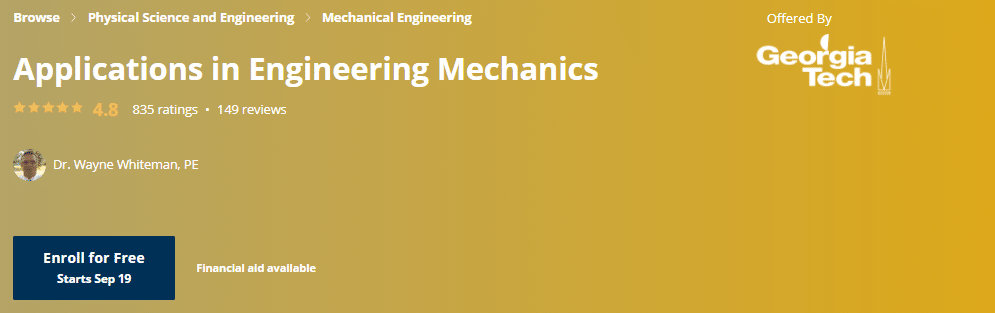 Best Free Online Engineering Courses with Certificate of Completion