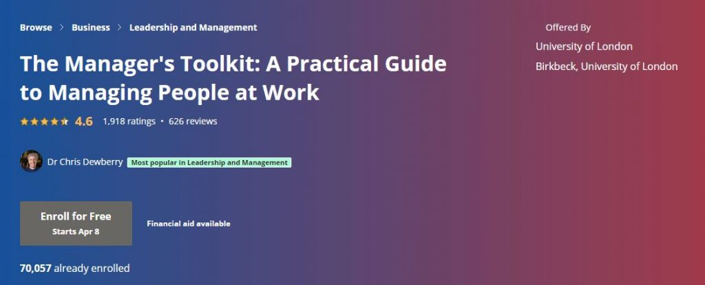 the managers toolkit