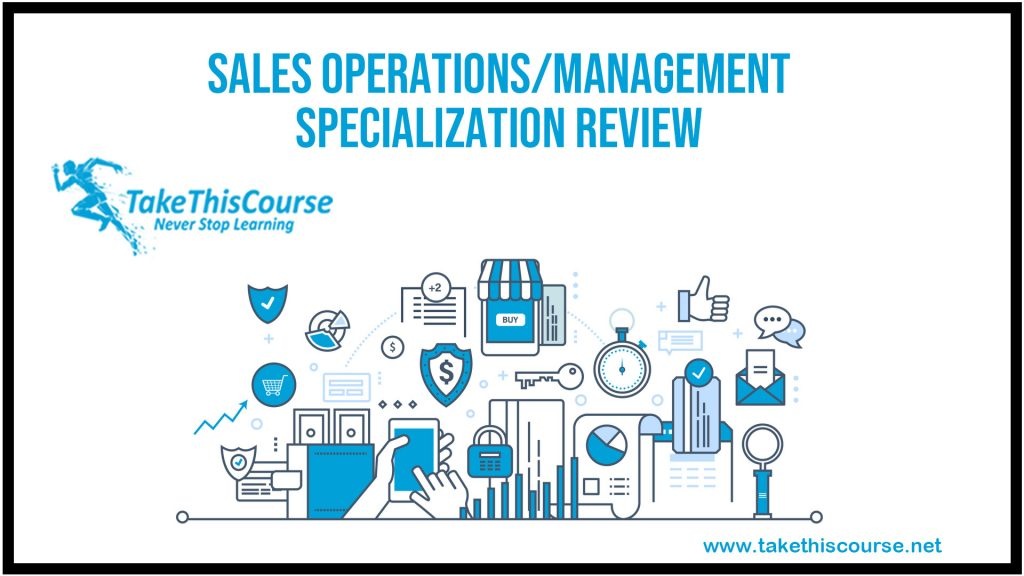 Sales Operations/Management Specialization