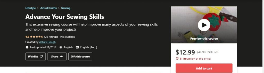 Advanced Your Sewing Skills