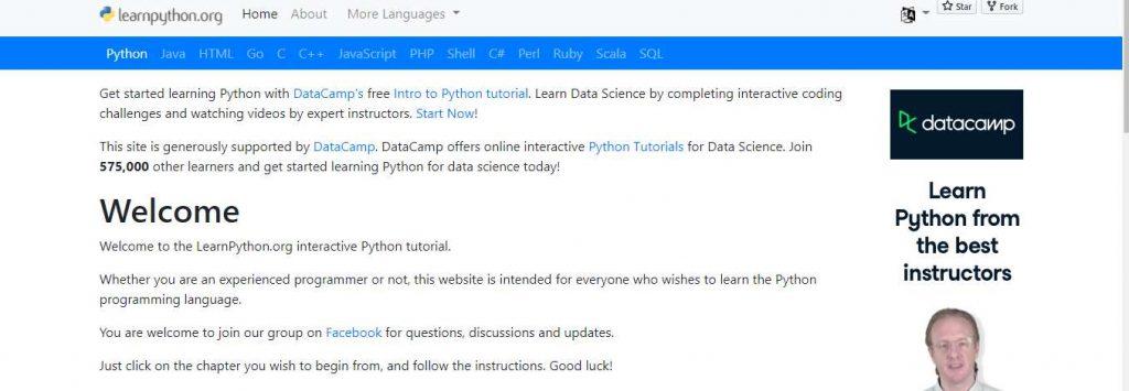 Python toturials