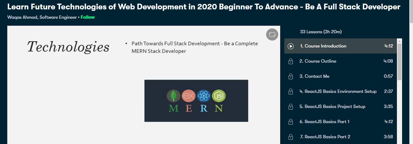 Mern Stack Learn Future Technologies of Web Development