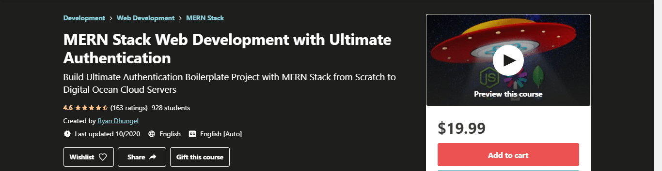 MERN Stack Web Development with Ultimate Authentication