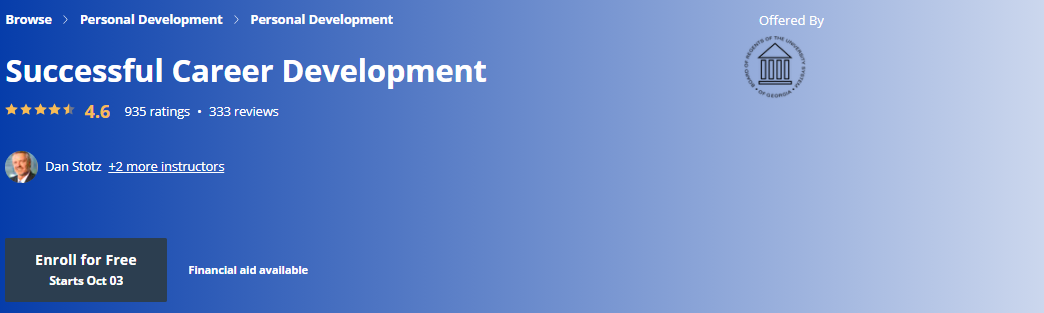 Successful Career Development