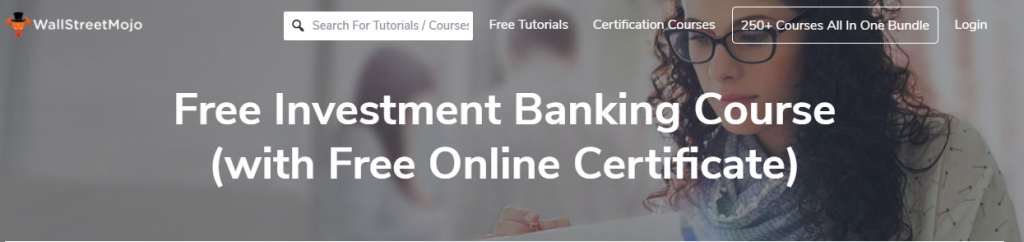 Free invesment banking course