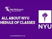 NYU Schedule of Classes