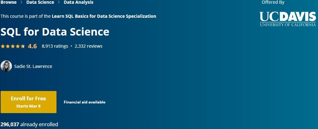 SQL DATA SCIENCE