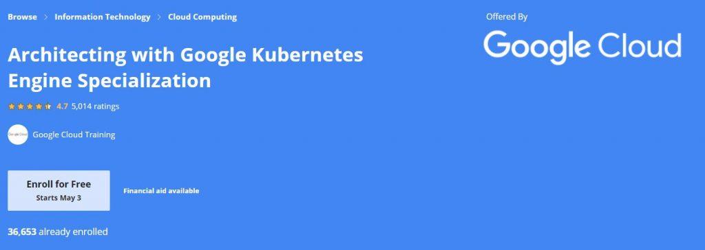 Architecting with google Kubernetrees engine Specialization