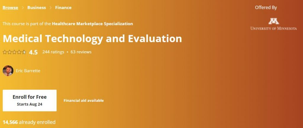 Medical technology and evaluation