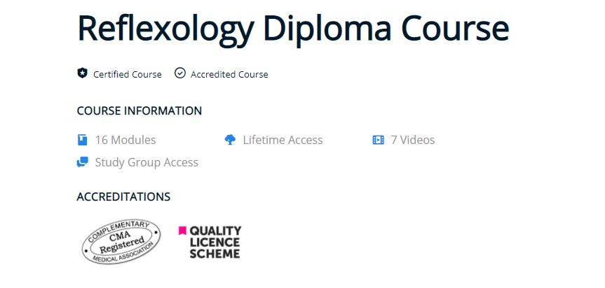 Reflexology Diploma Course