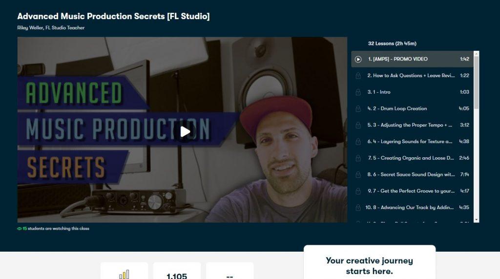 Advanced Music Production Seccrets