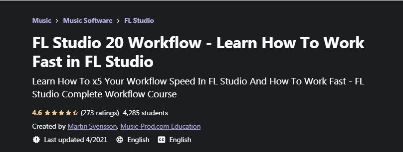 FL Studio 20 Workflow
