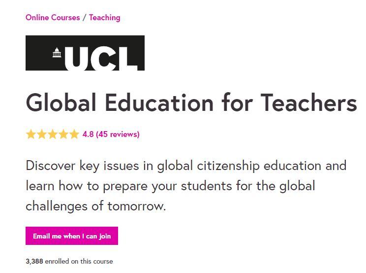 Global education for teachers
