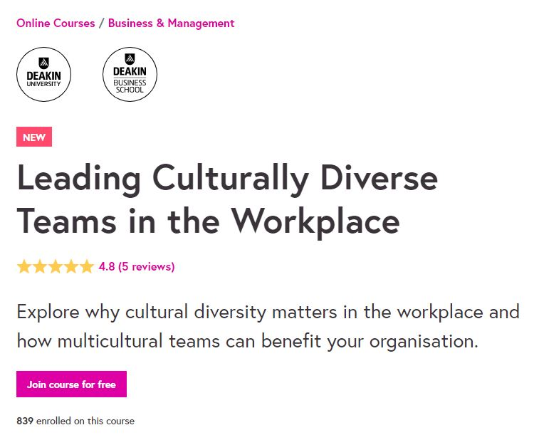 Leading Culturally diverse team in the workplace