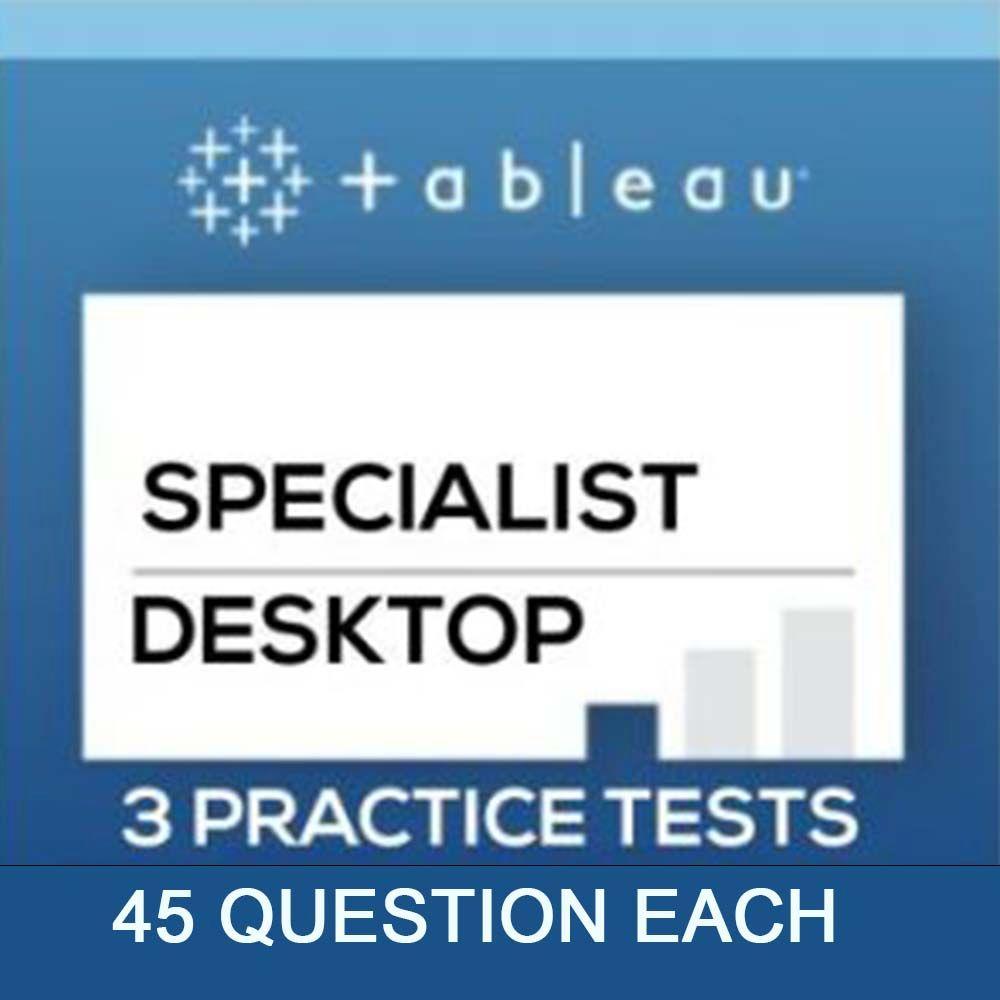 Tableau Desktop Specialist Certification Dumps