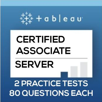 Tableau Server Certified Associate Practice Tests