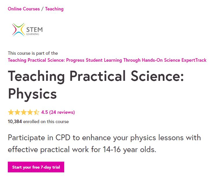 Teaching practical science physics