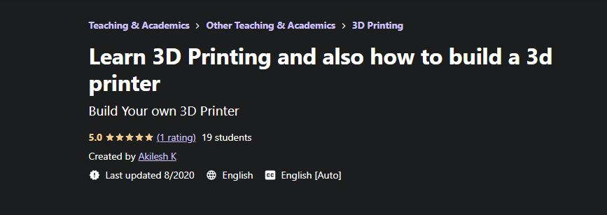 Tinkercad and 3d printing