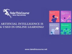 AI used in online education